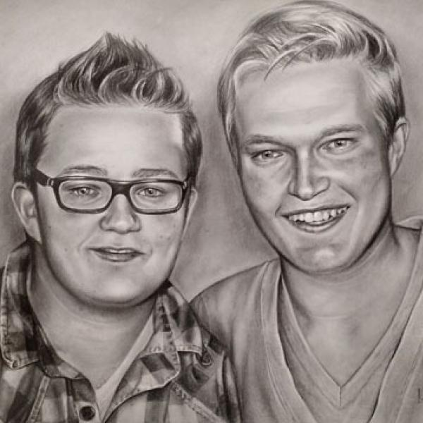 Thijs and Rick